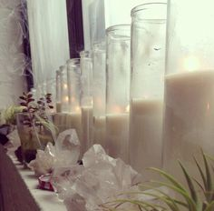 #crystals & #candles