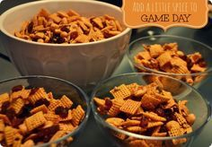 SWEET AND SPICY HONEY NUT CHEX MIX #RECIPE