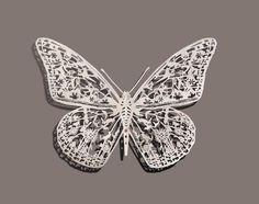 Papercut Butterfly - Scherenschnitt Schmetterling (http://pictify.com/96458/butterfly-papercut)
