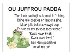 Afrikaans Is Maklik Preschool Poems, Kids Poems, Quotes Dream, Life Quotes Love, School Songs, School Fun, School Ideas, Robert Kiyosaki, Toddler Learning Activities