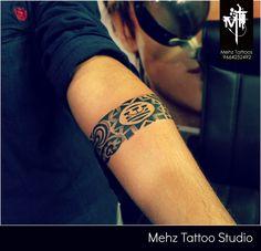 """Maori Armband"" Tattoo Done by Mahesh Amin at Mehz Tattoo Studio. Mumbai. India"
