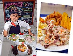 El Cevichano food stand / Peru