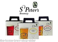 St #peters home brew beer kit range - cream #stout, ipa, ruby red, #golden ale,  View more on the LINK: http://www.zeppy.io/product/gb/2/181644532250/