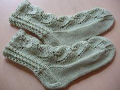 Ulla 01/06 - Neuleohjeet - Sauna-sukat Wool Socks, Knitting Socks, Knitted Hats, Short Socks, Crochet Slippers, Boot Cuffs, Yarn Colors, Baby Knitting Patterns, Knitting Projects