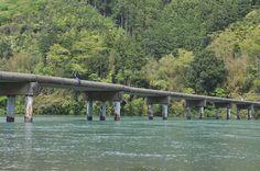 Takase chinka bridge #japan #kochi