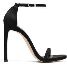 6032192a2 Stuart Weitzman Black Nudist Sandal as seen on Meghan Markle, the Duchess  of Sussex