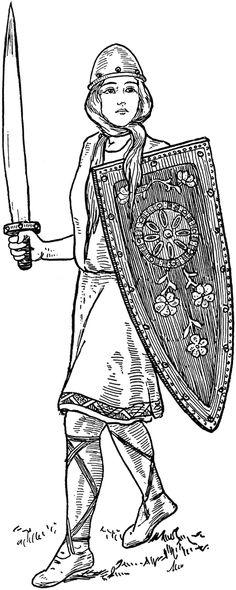nordic mythology clip art | Thor | ClipArt ETC | Mythos ...