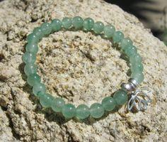 Aventurine Mala Bracelet prayer beads rosary with by LotusJewels, $15.99