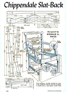Chippendale slat back chair Furniture Legs, Furniture Styles, Furniture Design, Chippendale Chairs, Georgian Furniture, Dinning Chairs, Wood Plans, Colorful Furniture, Diy Wood Projects