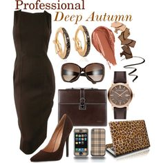 Professional Deep Autum by prettyyourworld on Polyvore featuring Chanel, Jeffrey Campbell, Salvatore Ferragamo, Burberry, Adina Reyter, Gucci, Urban Decay, COVERGIRL and Nintendo
