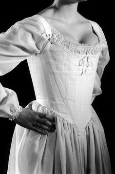 c. 1770 Judith Corset