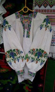 Ukraine, from Iryna with love Folk Fashion, Ethnic Fashion, Traditional Fashion, Traditional Outfits, Sandro, Polish Embroidery, Ethnic Outfits, Shabby, Folk Costume
