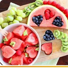 Lush watermelon idea