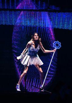 Tini Stoessel en la Gira Internacional de Violetta Live