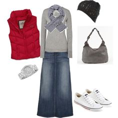 Winter Red - Polyvore