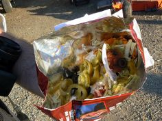 Walking Taco. Sounds far weirder than it really is -- just a taco in a bag you can walk around with.
