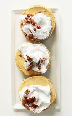 AMAZING, Creamy Vegan Pumpkin Cheesecakes! 1 Bowl, 10 ingredients, PERFECT for fall! #pumpkin #cheesecake #vegan #dessert #recipe #fall #naturallysweetened #minimalistbaker