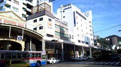 """Kanko-dori"" Nagasaki tramway station  Central Nagasaki"