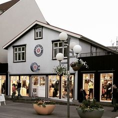 Have you been to the most northern ICEWEAR shop in the world? We recently revamped this old corrugated iron house to our Akureyri HQ and apartment holiday lets on second floor.  #icewear #iceland #akureyri #northiceland #shop