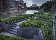 gitta gschwendtner and maria thereza alves / seeds of change garden, bristol harbour
