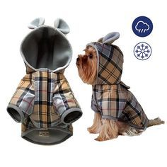Pet Vest Jacket Waterproof Pet Dog Clothes Dog Winter Hoodie #petdoglife #dogclothes #dogcoat #dogjacket #smalldogfashion #waterproof