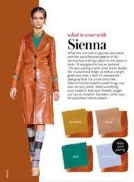 what to wear with InStyle Fall 2016 Sienna Colour Combinations Fashion, Color Combinations For Clothes, Fashion Colours, Colorful Fashion, Color Combos, Love Fashion, Fashion Tips, Fashion Design, Instyle Magazine