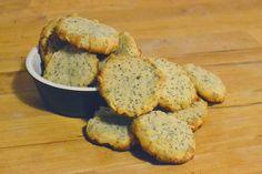 Recetas Cookies de amapola, limón y almendras