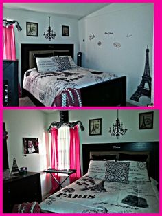 Paris Theme Bedroom Done On A Budget Paris Room
