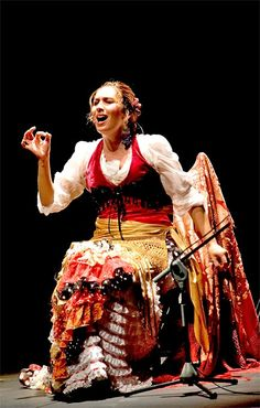 """Flamenco Tip of the Month - """"El Cante"""" So many people interested in Flamenco dance outside of Spain have a bit of a problem – they don't like the singing. I say this is a problem because without singing there is no Flamenco. Dancers dance for the song – it colours a dance, it changes the emotion, it is a communication between the singer and the dancer which when done properly can take the performance to a whole new level."""