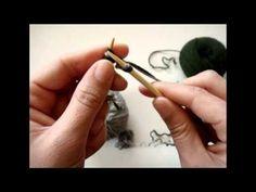 Πλέξιμο - Διπλή πλέξη - Double knitting - YouTube