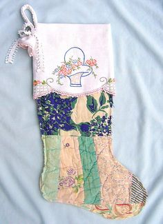 made from vintage quilt