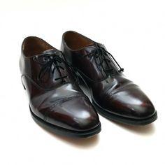 876deb7cd8c J Murphy Johnston Murphy Shoes Size 10 N Burgundy Cap Toe Lace Up Oxford  Shoes