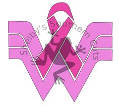 Boxing Gloves Logo For Breast Cancer Ribbon Image