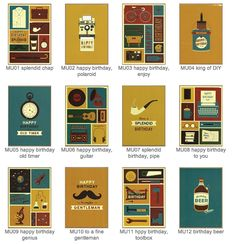 And more from   http://www.cinnamonaitch.co.uk/card-ranges/mustard