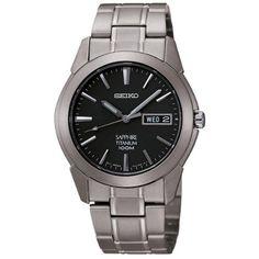 NICE Seiko-SGG731-Titanium-Silver-Watch