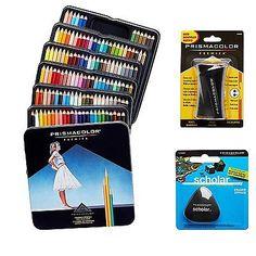 Art Pencils and Charcoal 28108: Prismacolor Quality Art Set - Premier Colored Pencils 132 Pack, Premier Pencil 1 -> BUY IT NOW ONLY: $65.38 on eBay!