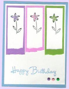 Easy simple Birthday card.