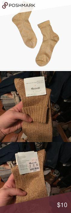 Madewell Hansel from Basel Sparkle Socks Never worn Madewell Accessories Hosiery & Socks