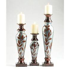 Vine Candle Holder, Set of 3