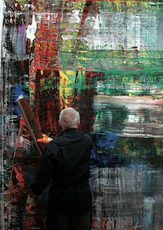 Gerhard Richter - Art Abstract Oil Painting