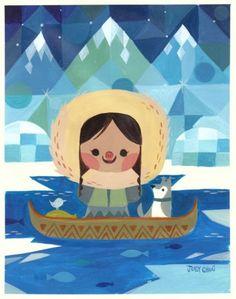 Eskimo Girl - by Joey Chou