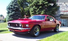1969 Boss 429 in Candy Apple Red