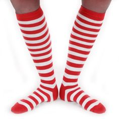 007c31f8ff9a4 Forum Novelties - Forum Novelties Peter Alan Narrow Striped Socks -  Red/White - Walmart.com