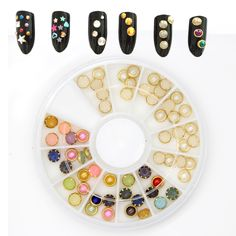 $0.88 Find More Rhinestones & Decorations Information about 1 Box about 60pcs 4mm…