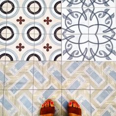 The floors at the new #PraktikVinoteca hotel terrace will be a collage of 8 different kinds of hand painted tiles! Here we are taking a #sneakpeek while final touches are being made  #tiles #floorboard #tileaddiction #hotel #travel #design #terrace #backyard