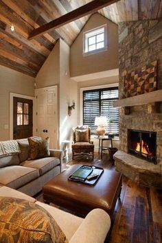 That ceiling, that fireplace. Everything.