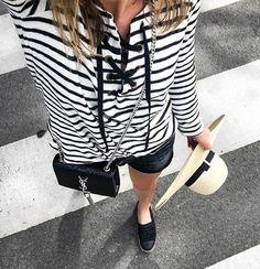 31 manières d'adopter la marinière repérées sur Instagram | Glamour