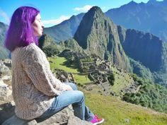 Meditating in Machu Picchu