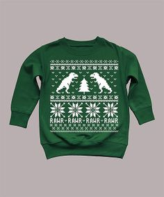 Kids Dinosaur sweater sweatshirt