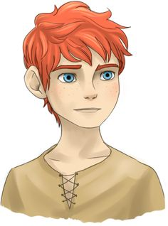 Jack and Merida Son. Is it me or does he look a little bit like Newt.